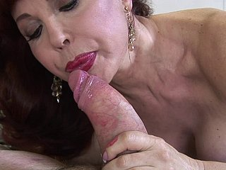 Of age babe sucks his big-busted insensible to dick added to gets fucked