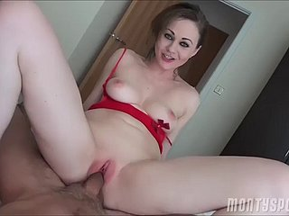 tina - pov - hot comprehensive is a peppery see-though swimsuit