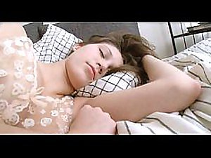 For This Sexy Sleeping Teen There's Nothing Like a Morning Masturbation