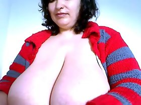 areolas 07 (she demonstrates those are wider than a dvd)