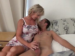 low-spirited french milf nuisance fucked