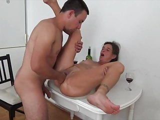 Matured wife fucked increased by fisted