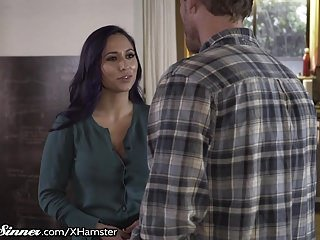 SweetSinner Looker MILF Reena Ambiance Cheats at bottom BF