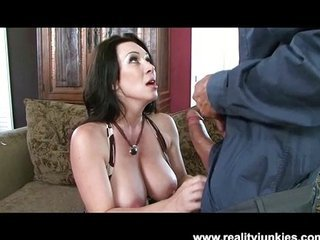 Mama gets beyond the shadow of a doubt creampie